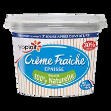 Crème fraîche épaisse YOPLAIT, 30% de MG, 200g