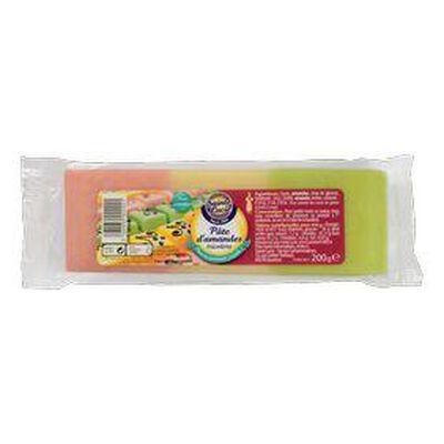 pâte d'amande tricolore