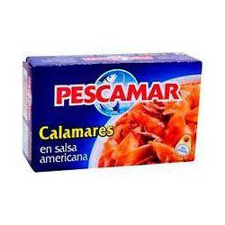 Calmars sauce américaine PESCAMAR, 120g