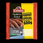 Charal Aiguillettes De Boeuf Format Spécial, Charal, France, 3 Pièces, Barquette 600g