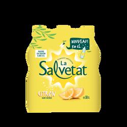SALVETAT citron, bouteille en plastique, 6x50cl