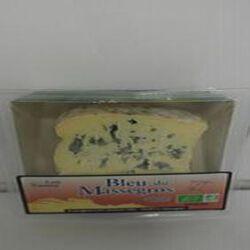 Bleu du Massegros LAIT de vache Bio Lou Passou 26%MG, 100g