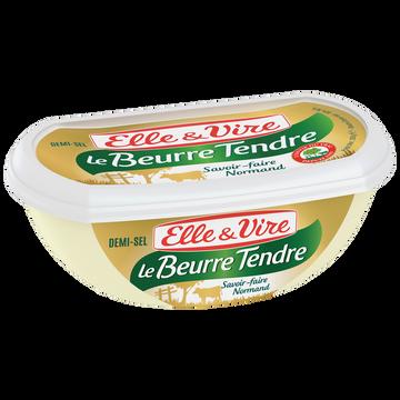 Elle & Vire Elle&vire Beurre Tendre Demi-sel - Barquette 250g