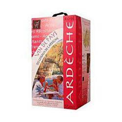 Vin rosé IGP VIGNERONS ARDECHOIS, 12.5°, 5l