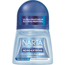 Déodorant homme nord extreme NARRTA, bille 50ml