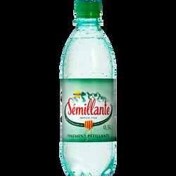 Eau gazeuse SEMILLANTE, bouteille de 50cl