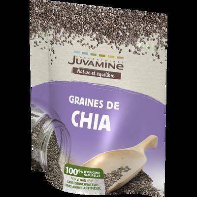 JUVAMINE GRAINE DE CHIA, 200 g