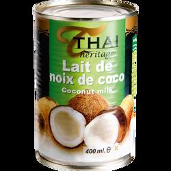 Lait de noix de coco THAI HERITAGE, 400ml