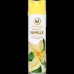 Désodorisant vanille U, aérosol de 300ml