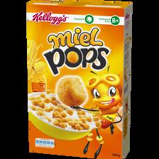 Céréales MIEL POPS Kellogg'S, paquet de 400g