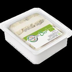 Gorgonzola mascarpone, BIO, lait pasteurisé, 36%mat.gr, 200g