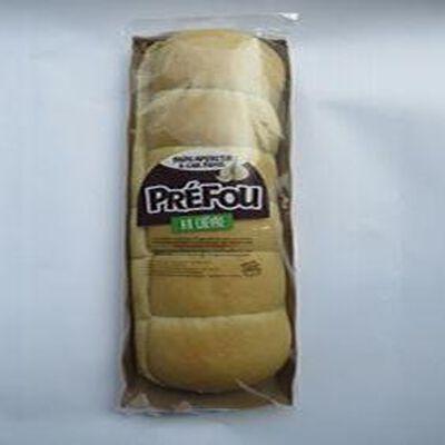 Préfou au chèvre, pain apéritif à l'ail frais, sachet 300gr, Sicard