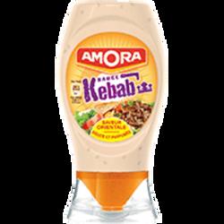 Sauce kebab AMORA, flacon souple de 256g