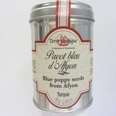 Pavot bleu d'Afyon Turquie TERRE EXOTIQUE ,80g