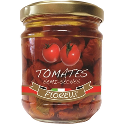 Tomates semi-seches FLORELLI, 180g