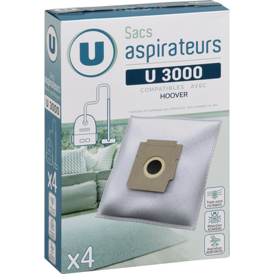 SAC ASPIRATEUR U SU3000 X4