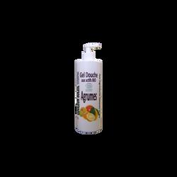 Gel douche aux agrumes bio tonique et stimulant COULEUR SOLEIL, 500ml