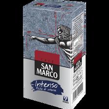 Café moulu Intenso SAN MARCO, paquet de 250g