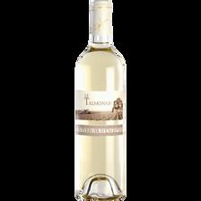 Vin de pays Charentais blanc Talmonais bio, bouteille de 75cl