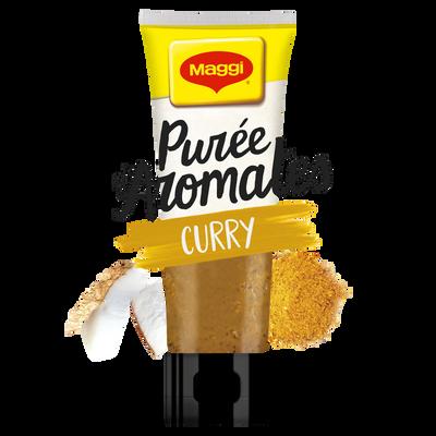 Purée d'aromates au curry MAGGI, tube de 80g
