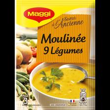 Soupe déshydratée moulinée 9 légumes MAGGI, sachet de 84g
