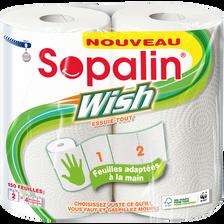 Essuie-tout wish SOPALIN, 4 rouleaux