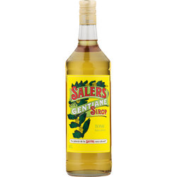 Sirop de gentiane SALERS, bouteille de 1l