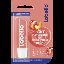 Stick pour les lèvres peach shine huiles naturelles LABEL LO, 4,8g