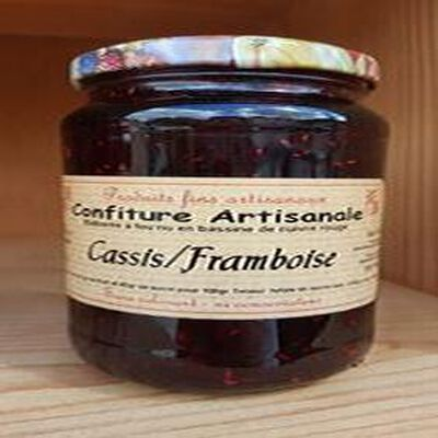 Confiture cassis-framboise, Recette du Jura 430g