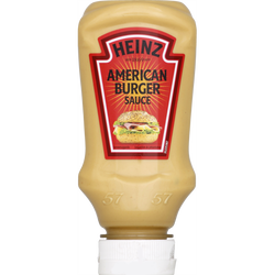 Sauce American burger HEINZ flacon souple top down 230g