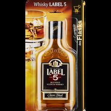 Scotch whisky LABEL 5, 40°, 20cl