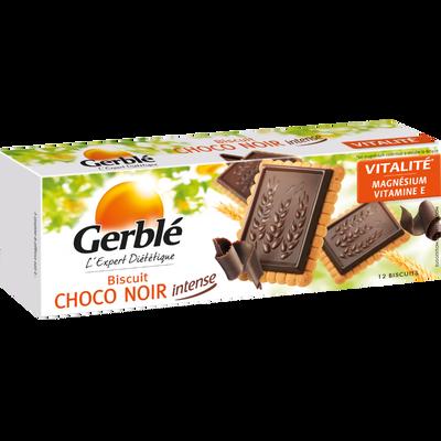 Biscuit au chocolat noir intense GERBLE, 150g
