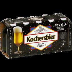 Bière blonde pak, 4,5°, 10 canettes de 25cl