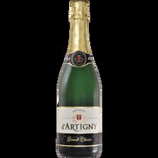 d'Artigny Cocktail Sans Alcool Pétillant Grand Classic , Bouteille De 75cl