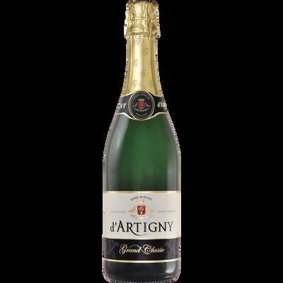 Cocktail sans alcool pétillant grand classic D'ARTIGNY, bouteille de 75cl
