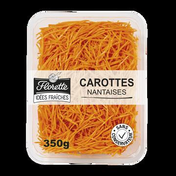 Florette Carottes Râpées, Fraicheur Florette, Barquette 350g