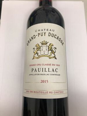 CHATEAU CG PUY DUCASSE CASHER
