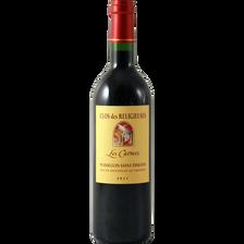 Vin rouge AOC Puisseguin Saint Emilion Clos des Religieuses les Carmes, bouteille de 75cl