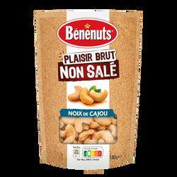 Plaisir brut noix de cajou grillées non salées BENENUTS, 130g