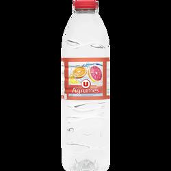 Boisson à base d'eau de source aromatisée agrumes U, 1,5l