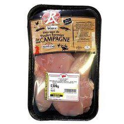 Barquette de 2 Filet de poulet fermier - LABEL ROUGE - MAIÎTRE COQ