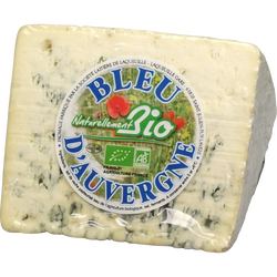 Bleu d'Auvergne AOP au lait pasteurisé naturellement bio 28,5%MG 240g