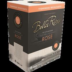 IGP de l'Atlantique Belles Rives rosé, 5l