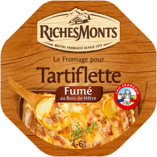 Riches Monts Fromage Pasteurisé Pour Tartiflette Fumé 28% De Mg , 450g