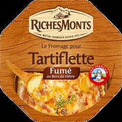 Fromage pasteurisé pour tartiflette fumé 28% de matière grasse RICHESMONTS,  450G