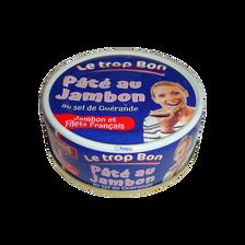 Pâté au jambon au sel de Guérande, STEPHAN, 78g