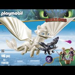 Playmobil Dragons - Furie Eclair et bébé dragon - 70038 - Dès 4 ans