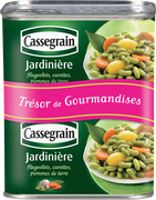 Cassegrain Jardinière Cassegrain, Boîte 2x1/2 530g