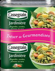 Jardinière CASSEGRAIN, boîte 2x1/2 530g