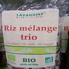 mélange trois riz bio 400g